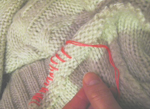Knitting Overcast Stitch : 301 Moved Permanently