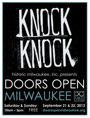 Doors Open Milwaukee - Sept. 21-22