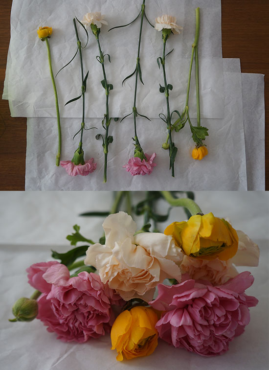 DIY Fresh Flower Topper