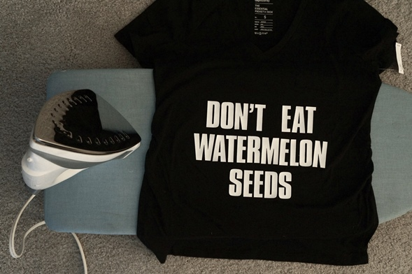 DIY Don't Eat Watermelon Seeds Step 1