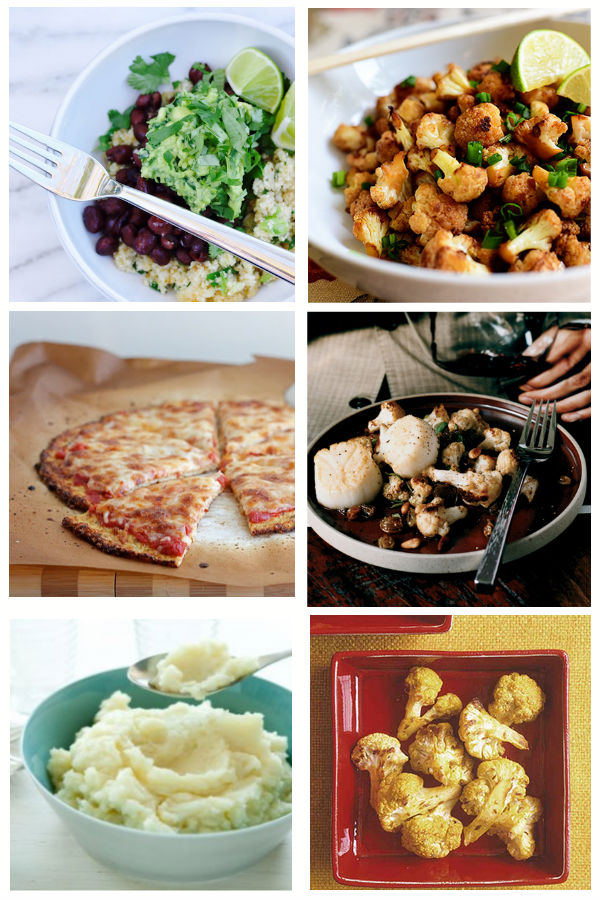 My Favorite Cauliflower Recipes